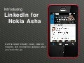 Introducing LinkedIn for Nokia Asha