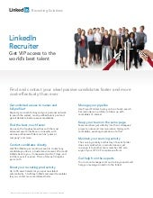 Linked In Recruiting Solutions