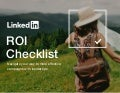 The Solving for Marketing ROI Checklist