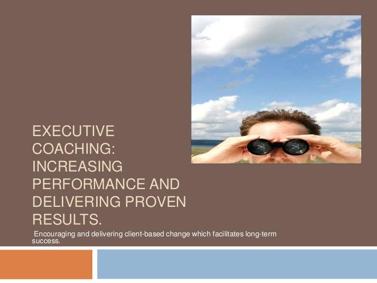 Executive Coaching Proposal