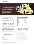LinkedIn Targeted Status Updates: Overview