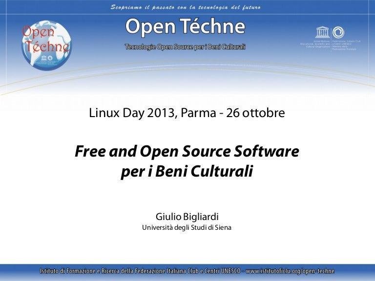 Open Source datazione php
