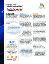 Success Story: Language I/O and CableONE via Oracle Service Cloud