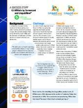 Success Story: Language I/O and CJ Affiliate by Conversant