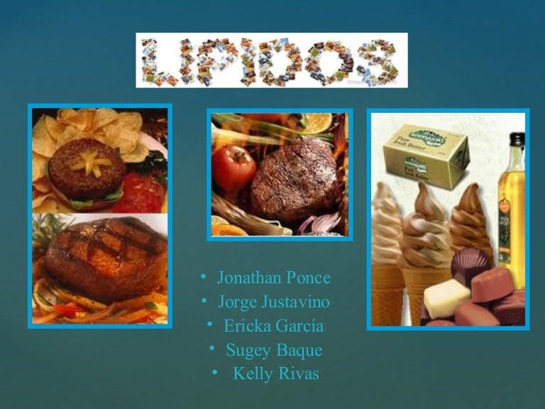 Lipidos - Trigliceridos alimentos ...