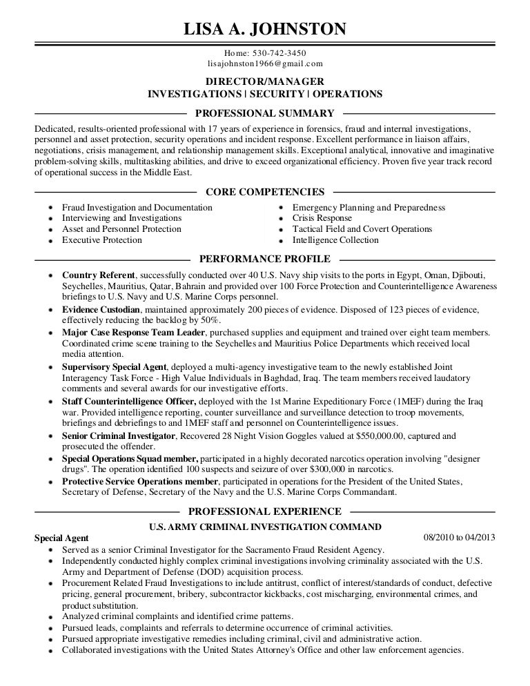lisa johnston resume