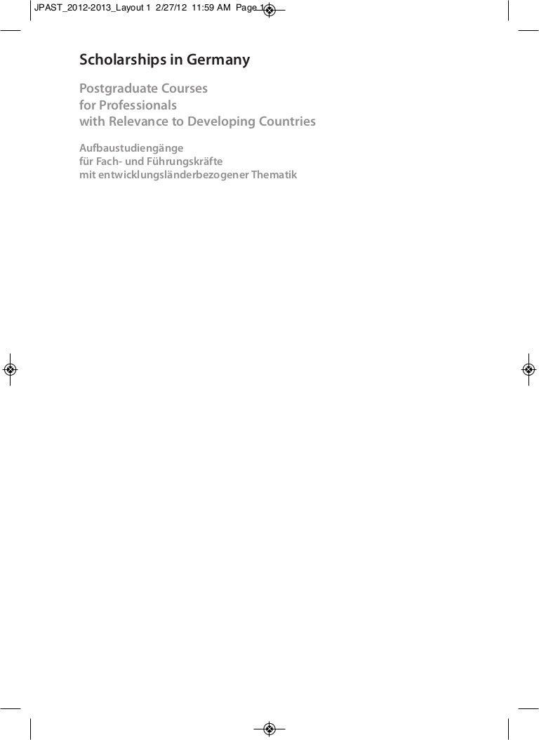 Lista de cursos de postgrado