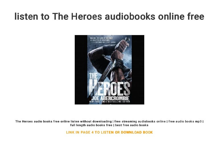 listen to The Heroes audiobooks online free