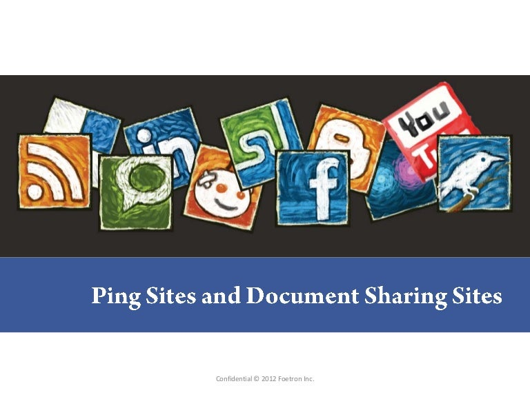 List of best ping websites and doc sharing