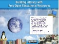 Building Literacy with Free Open Educational Resources
