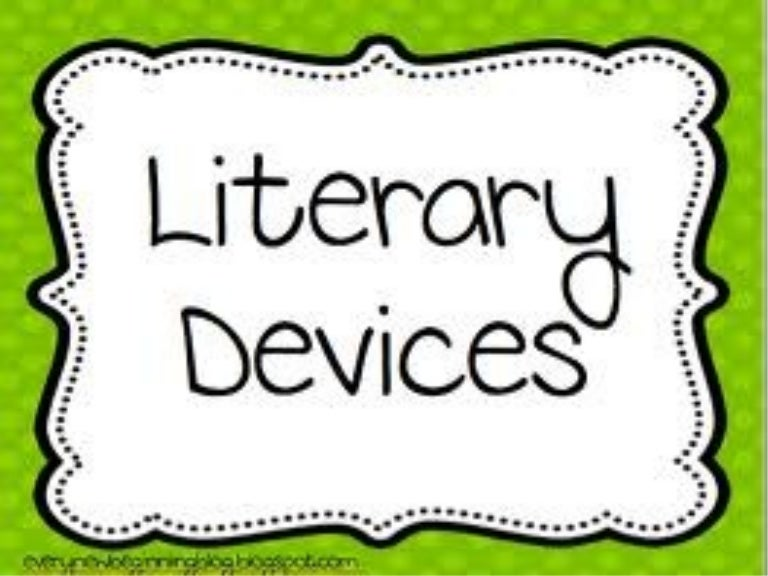 Definition Of Literary Devices