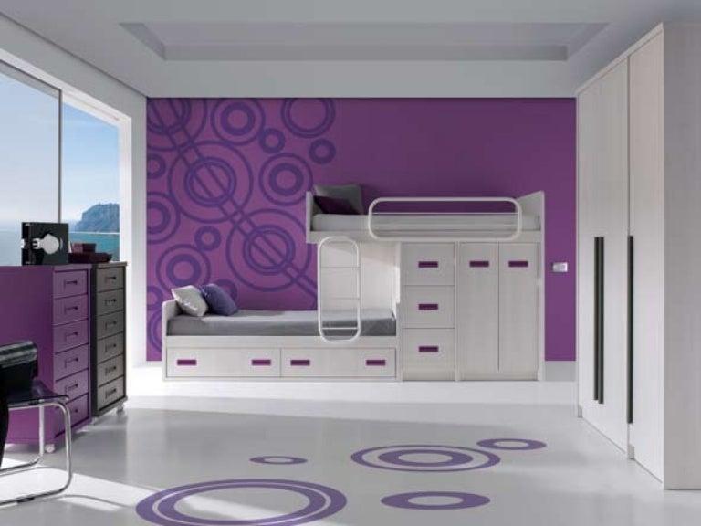 literas dormitorios juveniles modernos - Literas Modernas