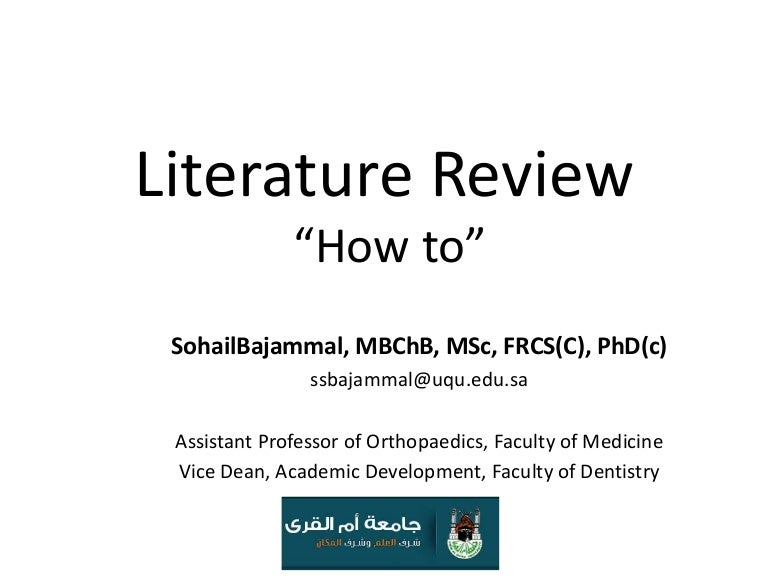 gpci literature review