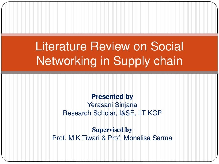 literature review on social networking sites Review of social media intelligence capabilities for counter-terrorism jamie bartlett carl miller november 2013   a semi-systematic literature review methodology was employed  social media network sites as those over 55 (nonetheless, every age.