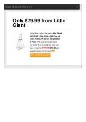 Little giant offer the best 15270001 flipnlite 300pound duty rating platform stepladder 6foot only 7999 reviews