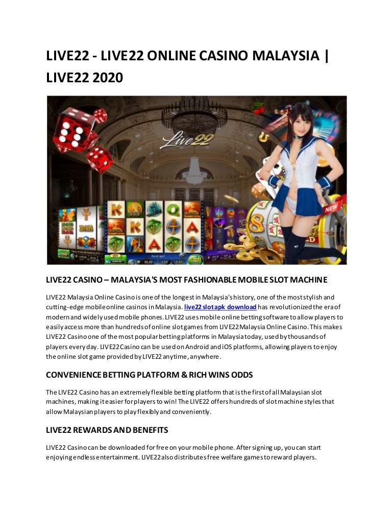 Live22 Slot Apk Download