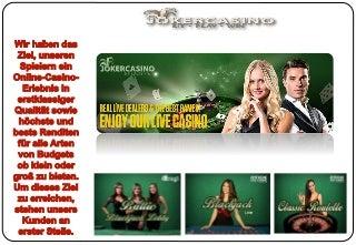 Livecasino, online casino