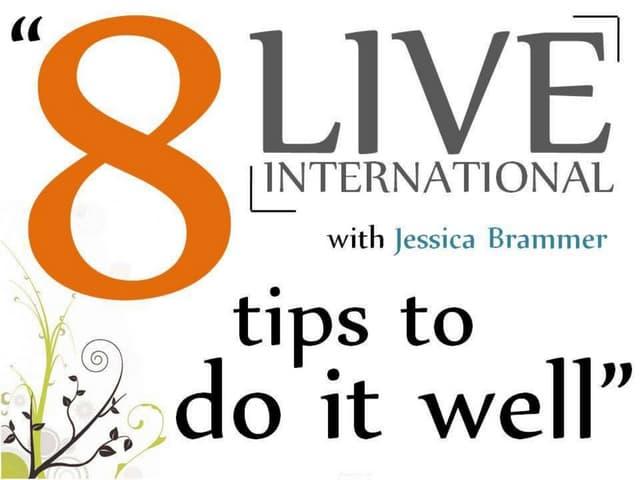 Live International - Do It Well
