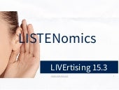 LIVErtising 2015 3 Listenomics