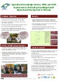 Agricultural knowledge centers: IPMS and LIVES experiences in promoting knowledge based agricultural development in Ethiopia