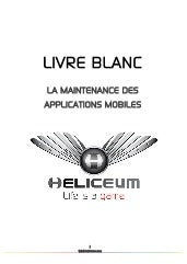 Livre Blanc : l'importance de la maintenance d'une application mobile selon Heliceum
