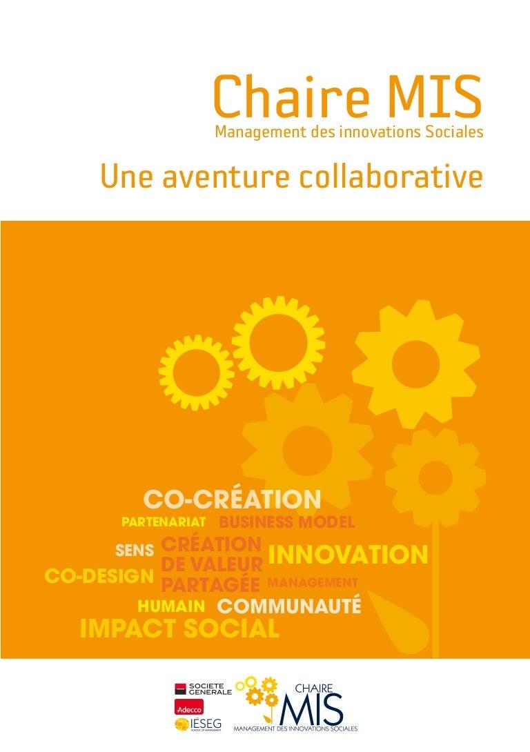 Livret Une aventure collaborative