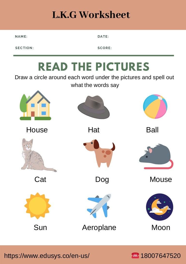 lkg worksheet kindergarten2 190328104406 thumbnail 4 - Kindergarten Writing Worksheets Pdf