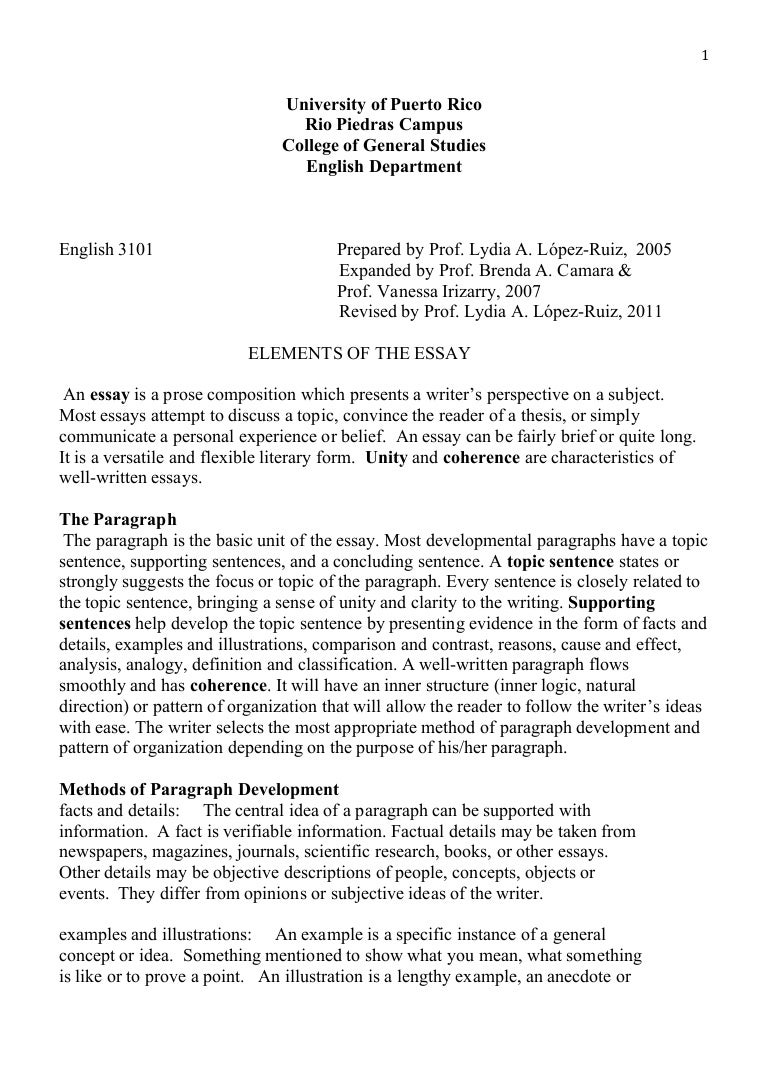 essay prose beginning an essay a quote mla essay writing skills  elements essay