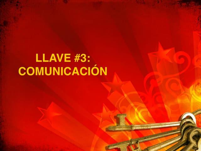 Llave no 3   La Clave de la Buena Comunicación en el Hogar
