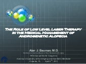 Role of LLLT in Androgenetic Alopecia