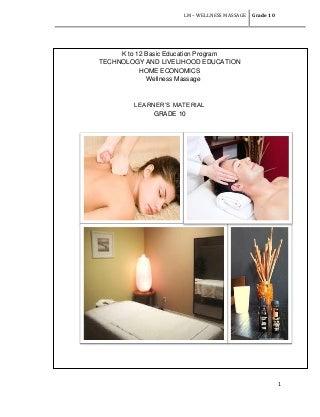 Lm wellness massage g10