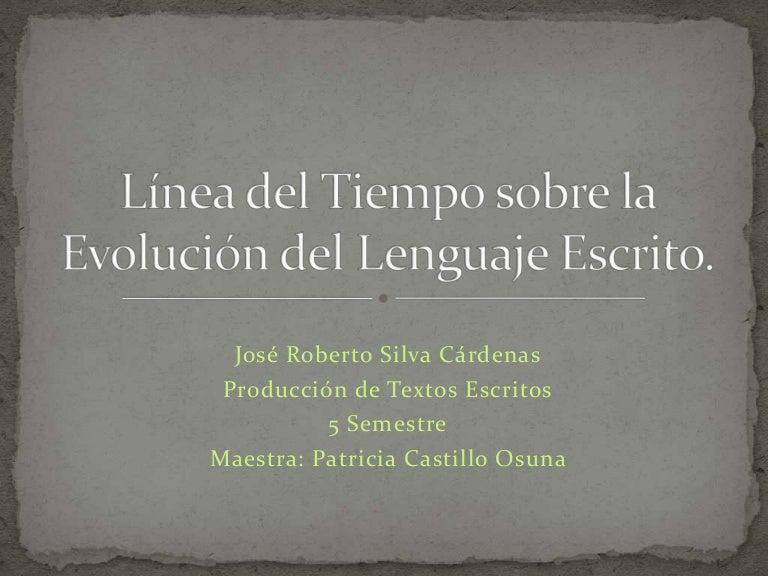L nea del tiempo sobre la evoluci n del lenguaje - Enel richiesta interramento linea ...