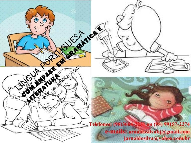 Língua portuguesa com ênfase em gramática e literatura 69a3cba03da94