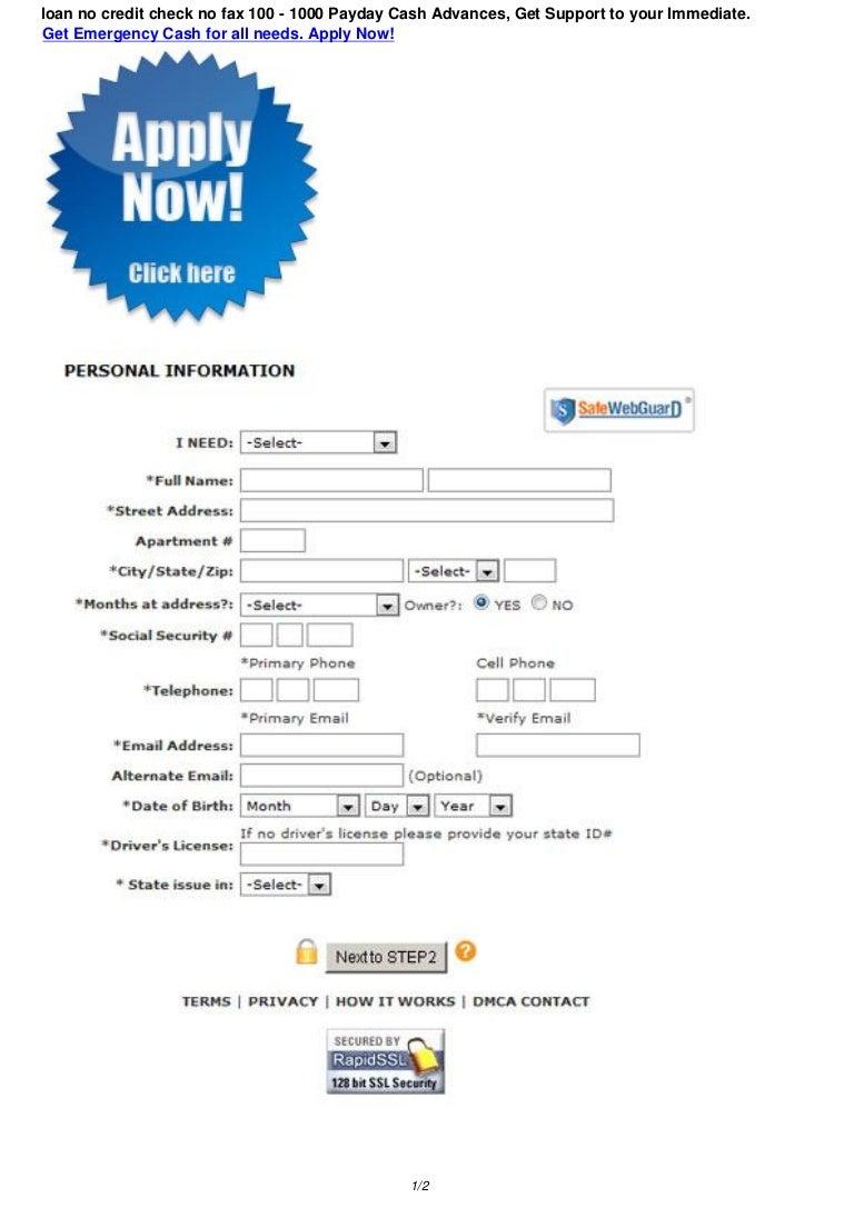 loan no credit check no fax 130420211454 phpapp02 thumbnail 4