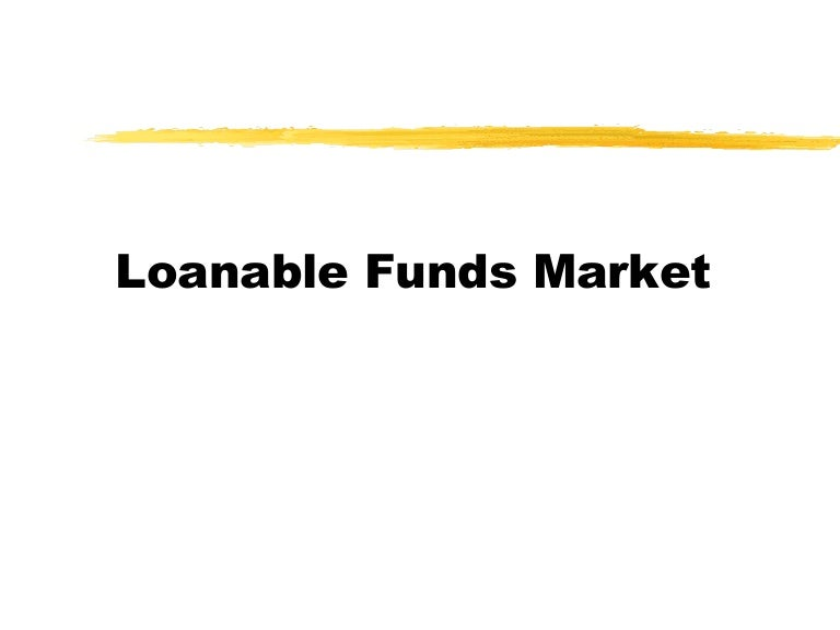 Loanable Funds