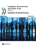 "Booklet highlighting the key messages from the OECD publication ""Lobbyists, Governments and Public Trust, Volume 3""."