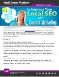 10 Tips to Improve Your Local SEO with Content Marketing