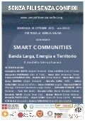 Smart communities - 18 ottobre 2015