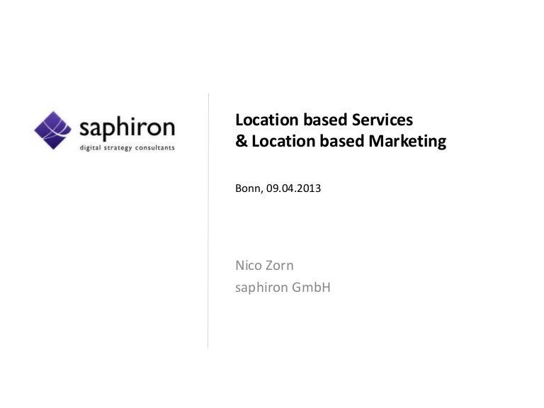 Location Based Marketing Und Location Based Marketing Workshop