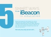 5 Smart Ways to Use iBeacon in Education