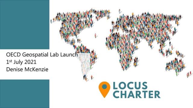 OECD Geospatial Lab - Locus Charter