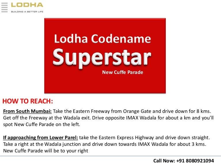 Lodha Codename Superstar - New Residential Cuffe Parade Wadala East N…