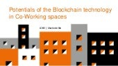 Potentials of the Blockchain Technology in Coworking Spaces -- Martin de Bie