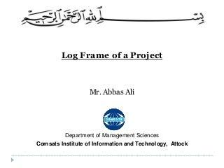 log frame linkedin
