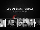Logical design for developers