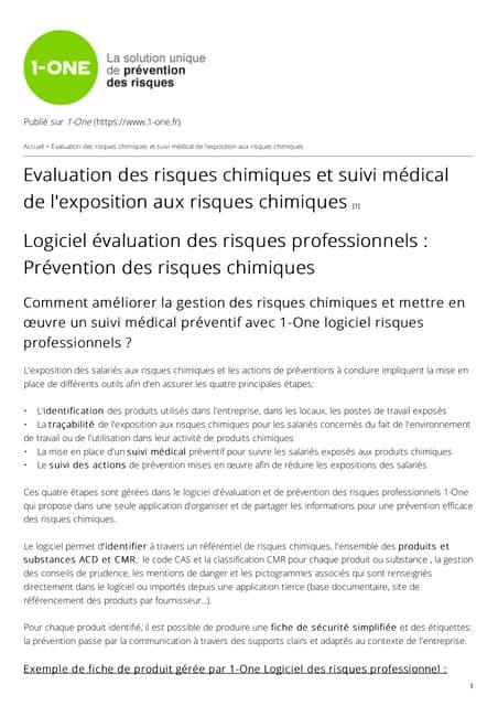 Logiciel risques-professionnels-evaluation-risques-chimiques-suivi-medical