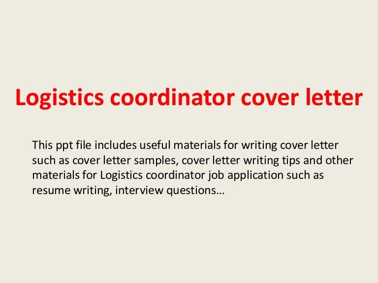 Logisticscoordinatorcoverletter 140223033802 phpapp02 thumbnail 4gcb1393126769 altavistaventures Images