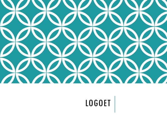 Logodesign (Danish slides)