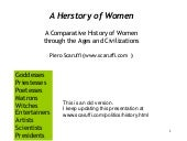 A Herstory of Women