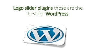 Logo slider plugins those are the best for wordpress